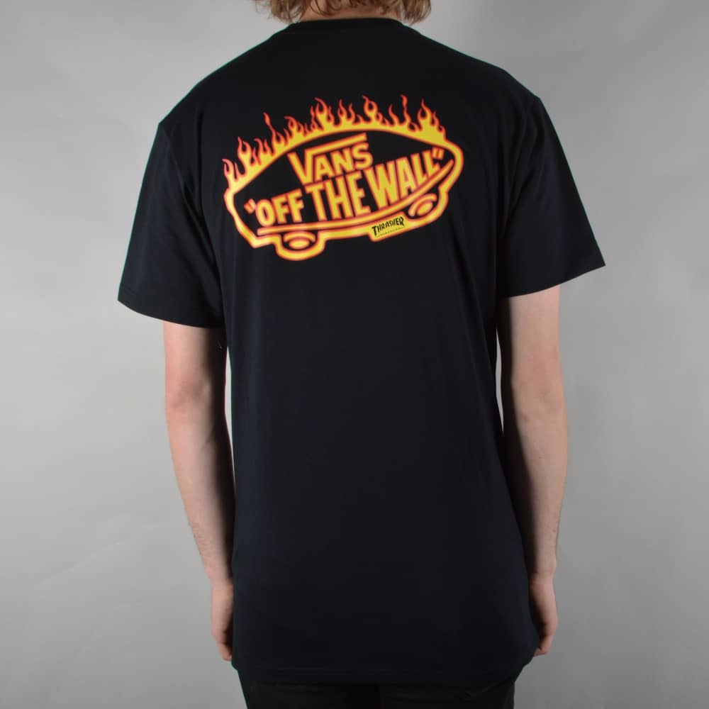 088355894a Vans x Thrasher Pocket T-Shirt - Black - SKATE CLOTHING from Native ...