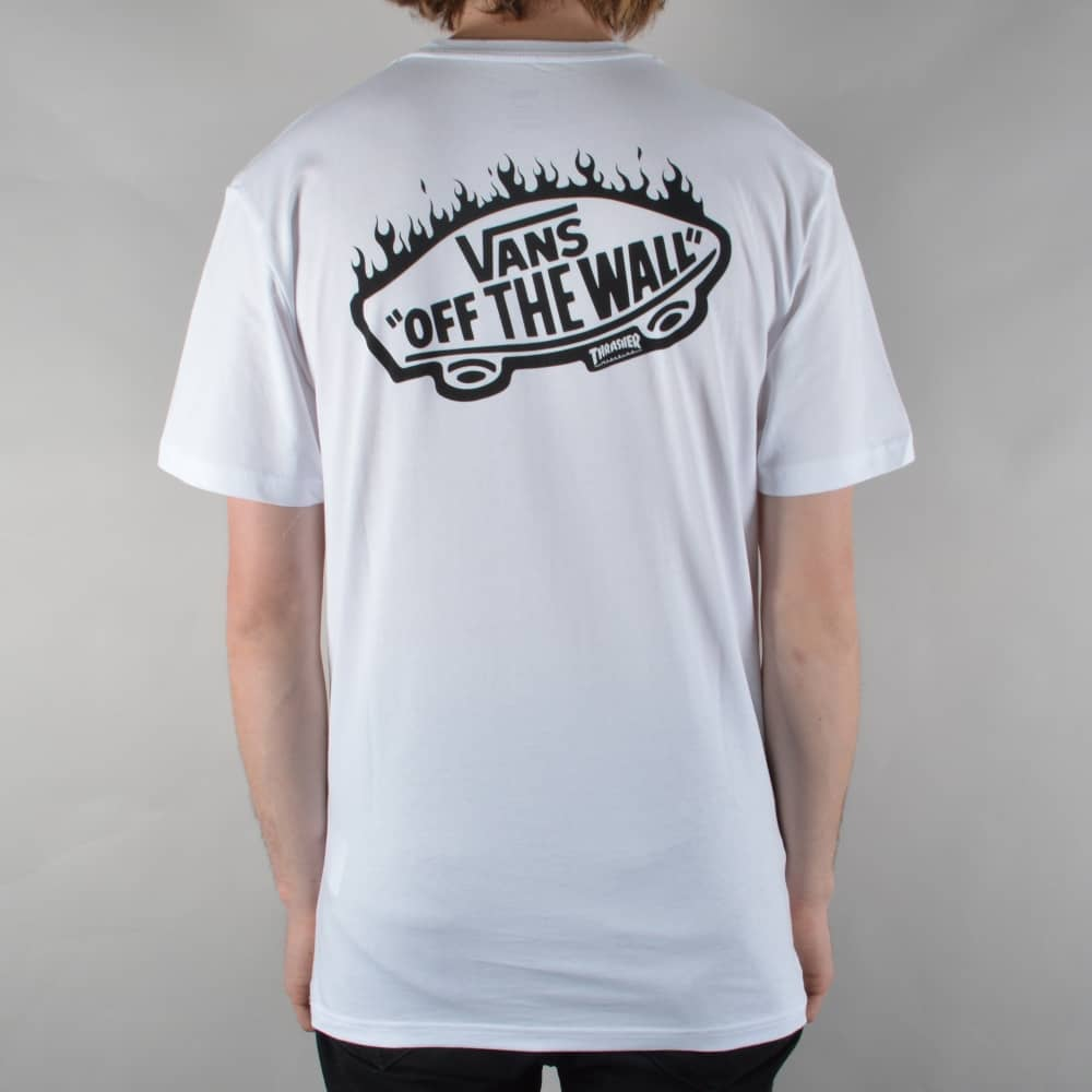 404fd25205 Vans x Thrasher Pocket T-Shirt - White - SKATE CLOTHING from Native ...