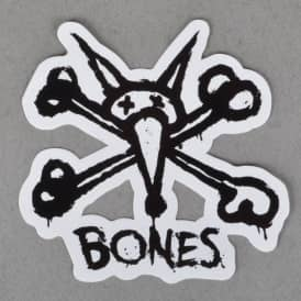 Vato Stacked Skateboard Sticker - White