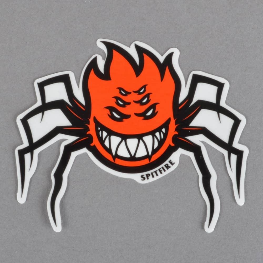 spitfire wheels venom bighead skateboard sticker