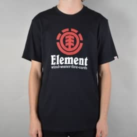 Vertical Skate T-Shirt - Flint Black