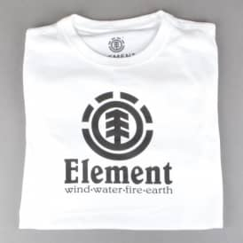 Vertical Youth Skate T-Shirt - Optical White