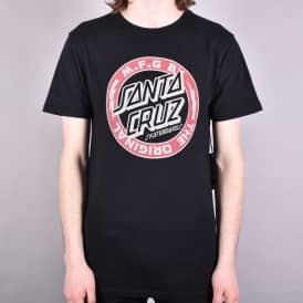 Voltage Colour Skate T-Shirt - Black