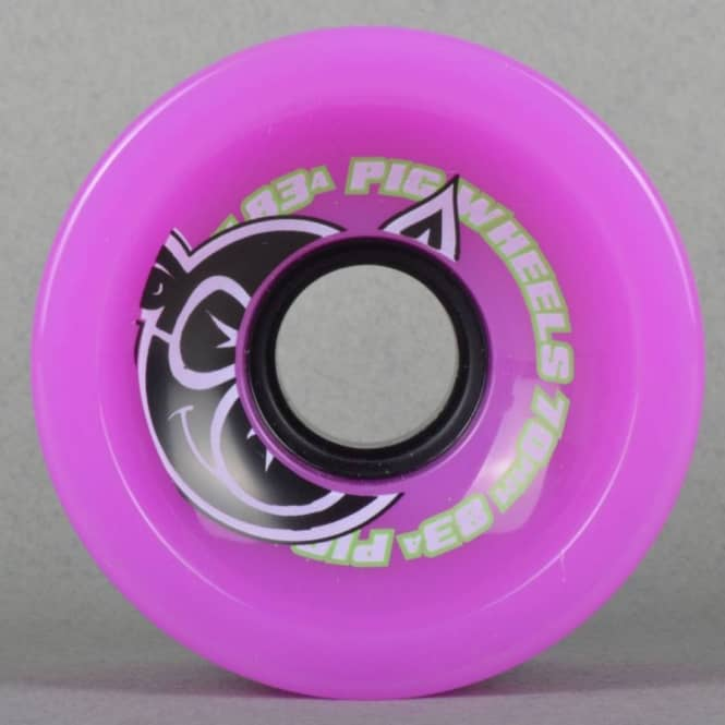 Pig Wheels Voyager Cruiser Purple 83A Skateboard Wheel 70mm