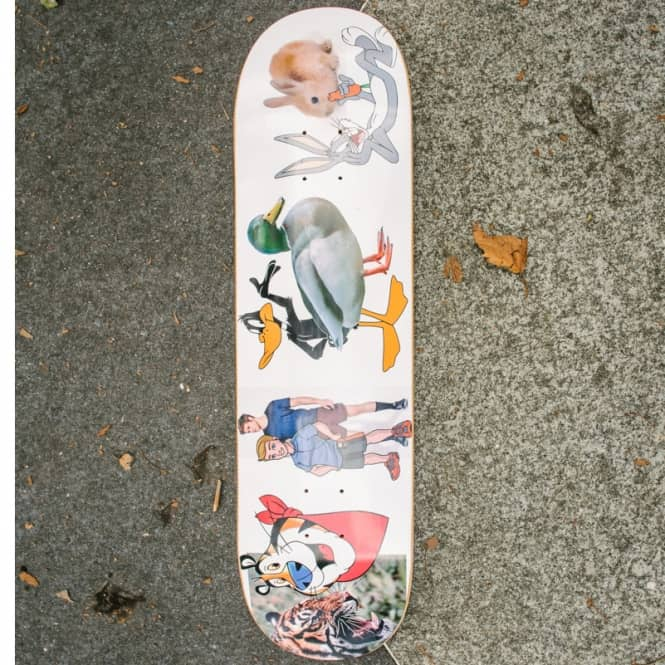 Alltimers Vs. Skateboard Deck 8.25