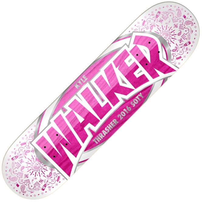 Real Skateboards Walker SOTY 2016 Large Skateboard Deck 8.25