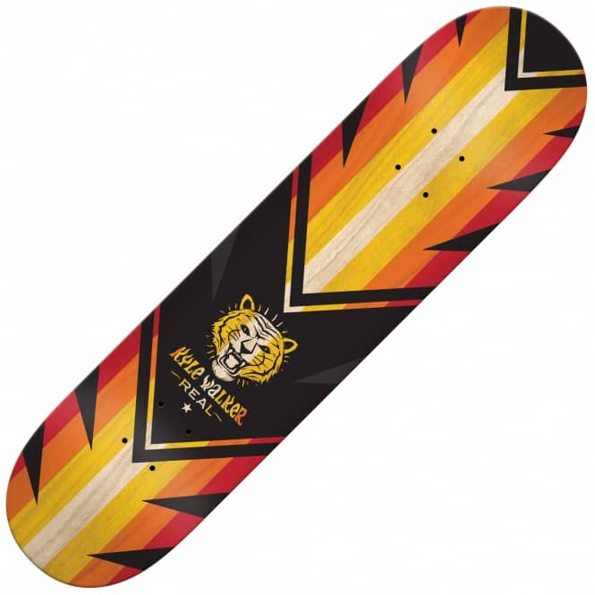 Real Skateboards Walker Spliced Skateboard Deck 8.12