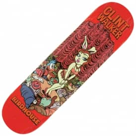 Walker Vices (Red Stain) Skateboard Deck 8.125