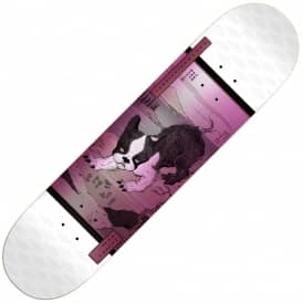 Walker Zodiac LTD (White) Skateboard Deck 7.75
