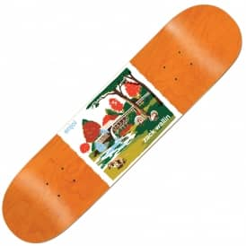 Enjoi Skateboards Wallin Dog Poopers Saw Mill Skateboard Deck 8.125''