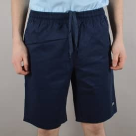Baker Skateboards Warner Cotton Twill Shorts - Navy