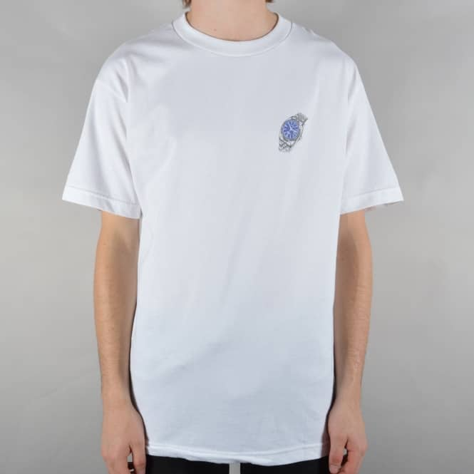 Alltimers Watch Skate T-Shirt - White