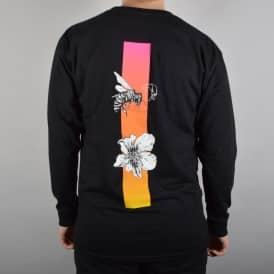 Welcome Skateboards Adaptation Longsleeve T-Shirt - Black