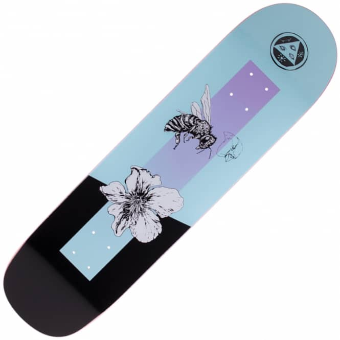 Welcome Skateboards Adaptation On Big Bunyip Blue Skateboard Deck 8.5
