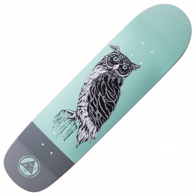 Welcome Skateboards Black Beak On Son Of Planchette (Teal) Skateboard Deck 8.38