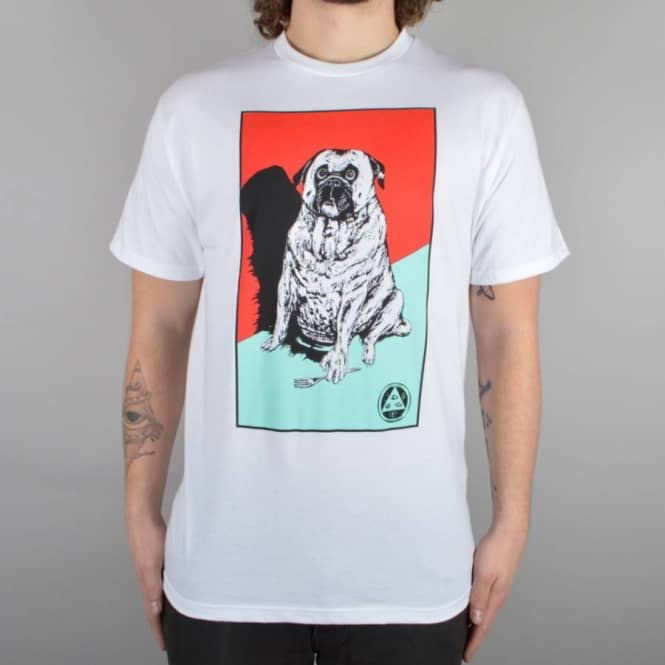 Welcome Skateboards Common Goblin Skate T-Shirt - White