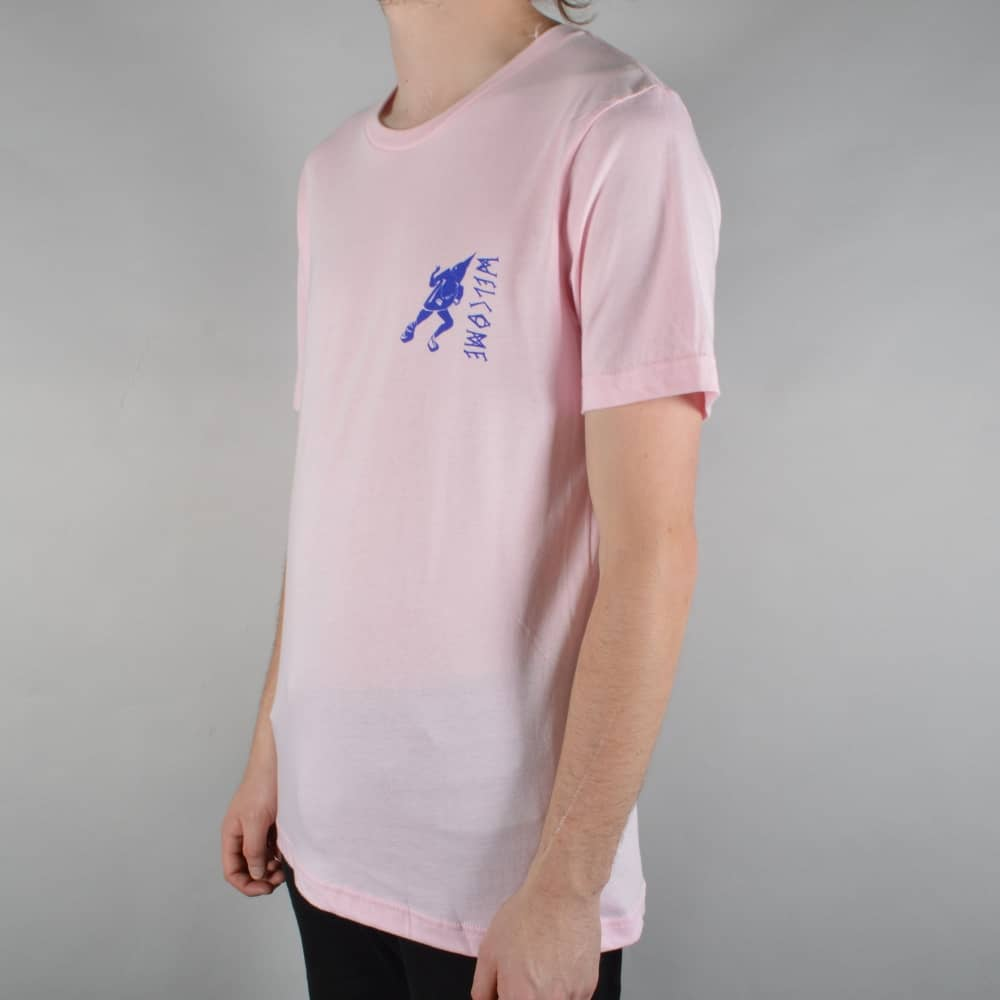 93498b9b Welcome Skateboards Creepers Skate T-Shirt - Soft Pink - SKATE ...