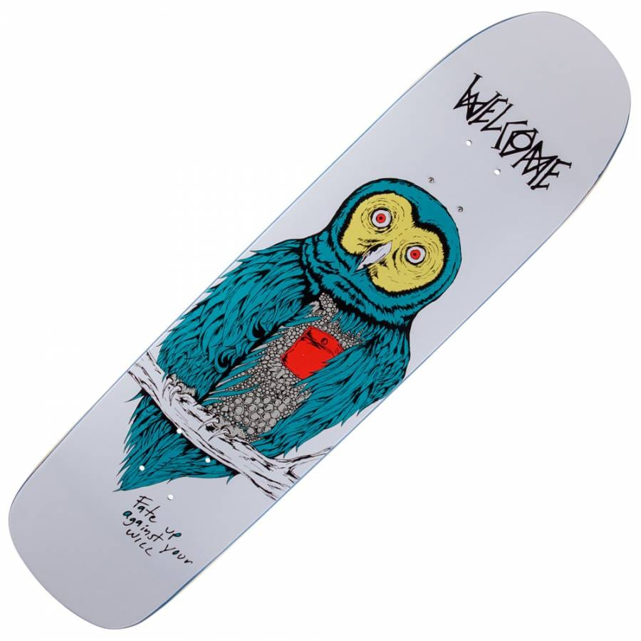 Welcome Skateboards Nolan Johnson Rocking Dog On ... |Welcome Skateboards Bird Graphics