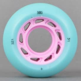 Welcome Skateboards Orbs Ghost Lites Blue/Pink Skateboard Wheels 54mm