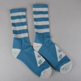 Triangle Socks - Dark Teal/Heather