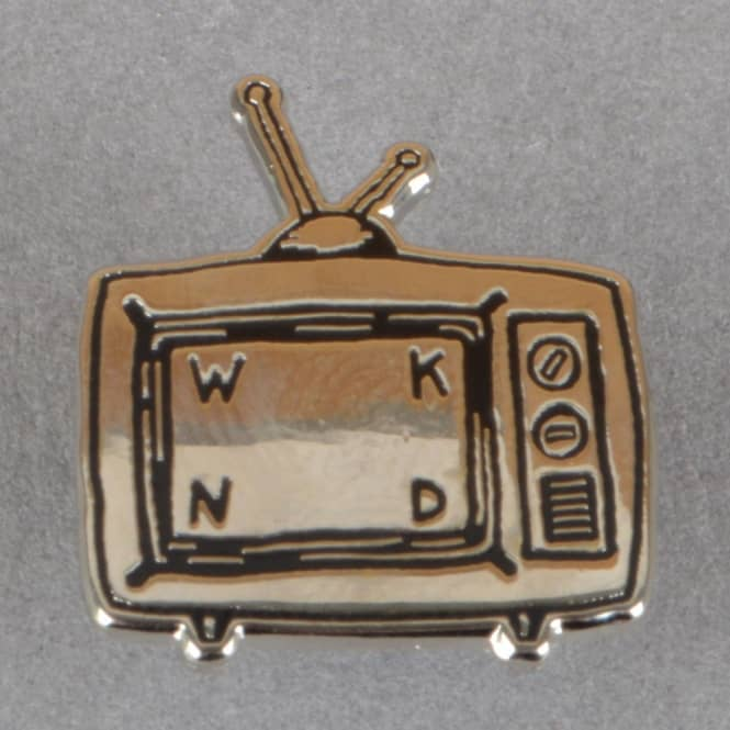 WKND Skateboards TV Logo Pin Badge
