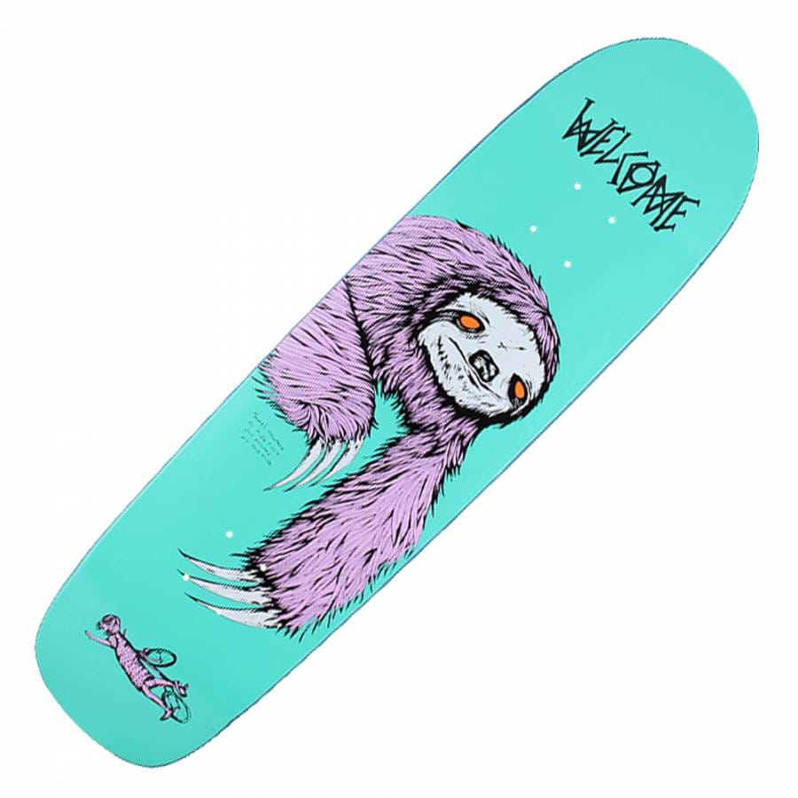 Welcome Skateboards Preacher Bear Purple On Stilleto Heel ... |Welcome Skateboards Bird Graphics
