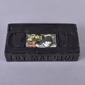 Toy Machine Skateboards Welcome To Hell VHS Skateboard Wax - Black