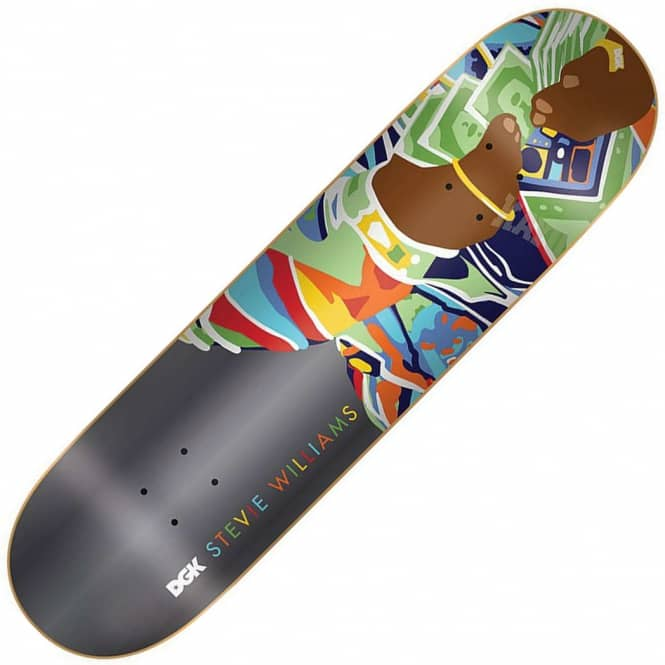DGK Williams Loot Skateboard Deck 8.0