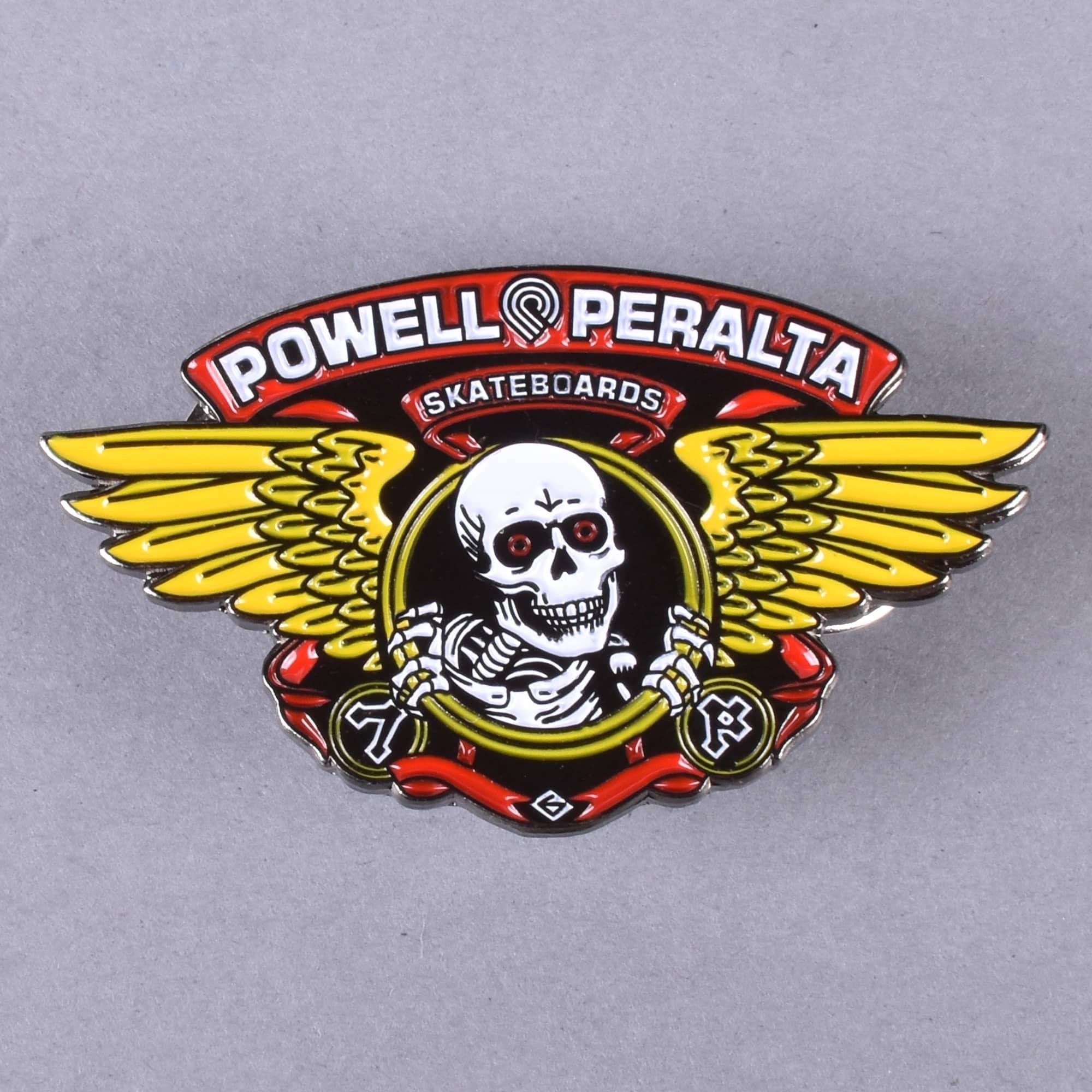 Powell Peralta CROSS BONES Skateboard LAPEL PIN