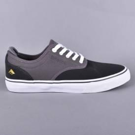 Wino G6 Skate Shoes - Dark Grey/Grey
