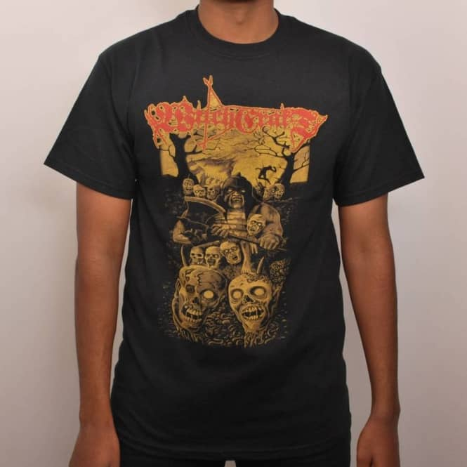 Witchcraft Hardware Witchcraft Corpse Fiend Skate T-Shirt Black