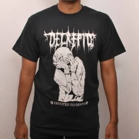 Witchcraft Devoted To Death T-Shirt Black