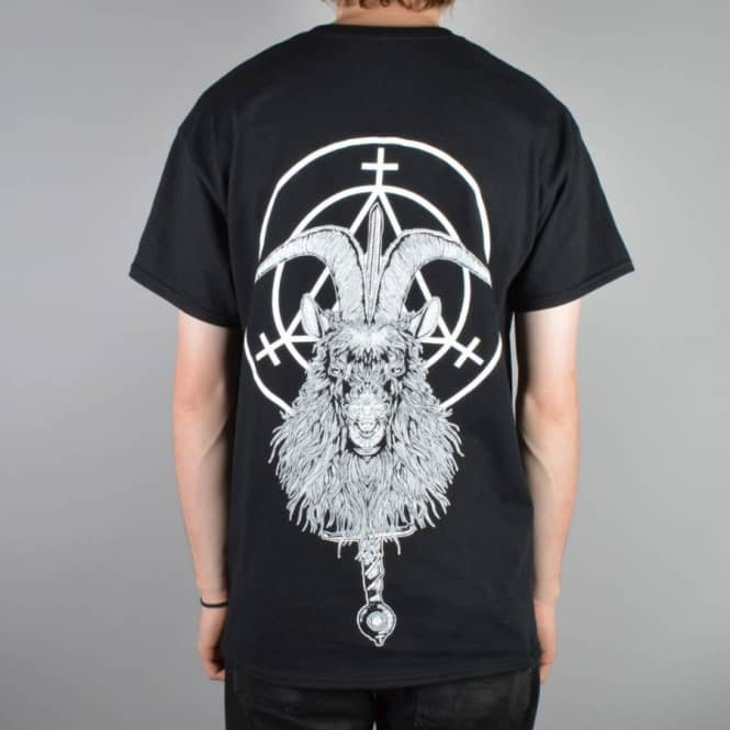 Witchcraft Hardware Witchcraft Goat Witch Skate T-Shirt - Black