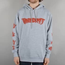 Witchcraft Hardware Axe Reaper Pullover Hoodie - Heather Grey