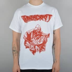 Witchcraft Hardware Axe Reaper Skate T-Shirt - White