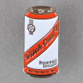 Witchcraft Hardware Beer Can Enamel Pin Badge