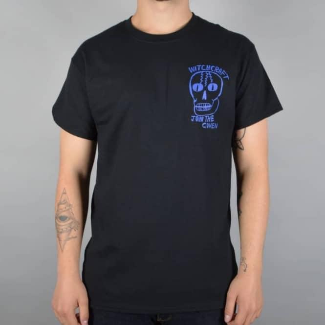 Coven Skull Skate T-Shirt - Black