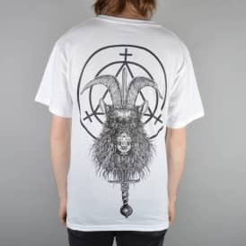 Witchcraft Hardware Goatwitch Skate T-Shirt - White
