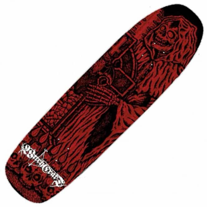 Witchcraft Hardware Graveyard Ritual Pool Shape Skateboard Deck 9.0''