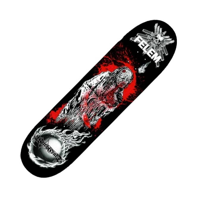 Witchcraft Hardware Witchcraft Hardware Witchcraft OIWA Skateboard Deck 8.5