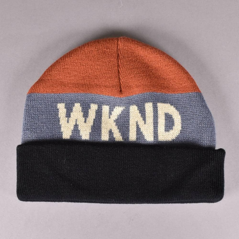 31037662eb3 WKND Skateboards Collision Watchcap Beanie - Red - SKATE CLOTHING ...