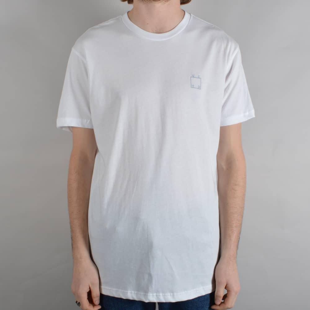 aaf1d782c10 WKND Skateboards Embroidered Logo Skate T-Shirt - White - SKATE ...