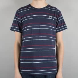 Striped Skate T-Shirt - Navy