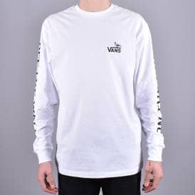 635305c9c8a X Antihero On The Wire Long Sleeve Skate T-Shirt - White