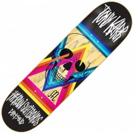Heroin Skateboards x Dirtsqid Karr Skateboard Deck 8.25""