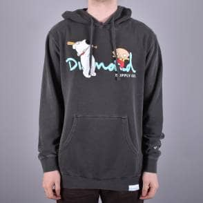 c50f047a21 Diamond Supply Co. OG Sign Zip Hoodie - Black - SKATE CLOTHING from ...