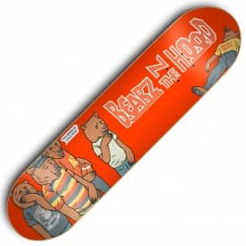 x Grizzly Bearz In The Hood Skateboard Deck 8.125