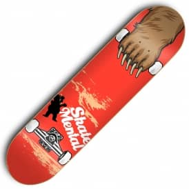 x Grizzly Maul Grab Skateboard Deck 8.25