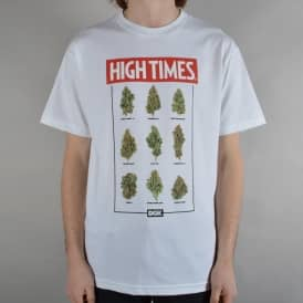 x High Times Fire T-Shirt - White
