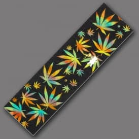 x Idea Cannabis Die Cut Griptape - Sheet